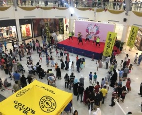 GGX performance at Dubai Outlet Mall's 10th Anniversary Celebration