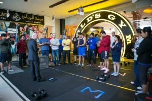 Gold's Gym Challenge 2013